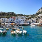 boates on capri island