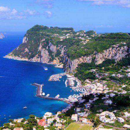 capri island trip from rome