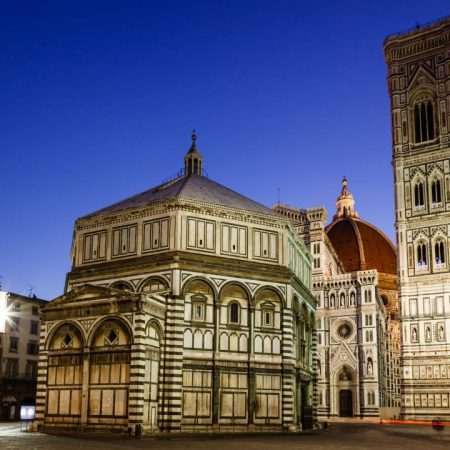 duomo of florence night view