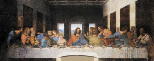 last supper masterpiece by Leonardo Da Vinci