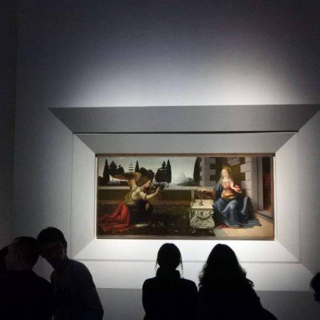 finest art in uffizi gallery