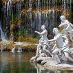 statues and fountains in tivolli