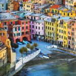 stunning picture with cinque terre