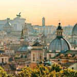 visit rome with a walking visit